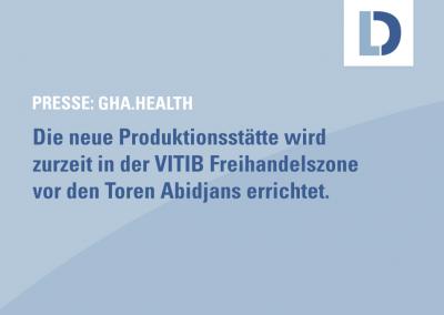 gha.health: Das Labor. GmbH plant Afrikas erste Produktion von SARS-CoV-2 Antigenschnelltesten in Côte d'Ivoire